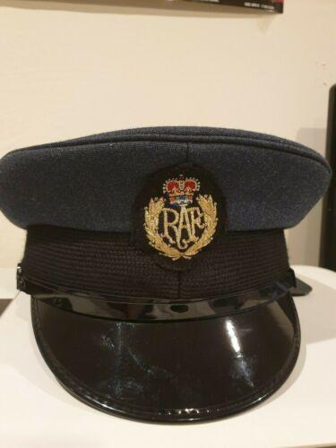 Raf Royal Air Force Schirm Kappe mit Abzeichen Britische Armee Kleid Uniform UK