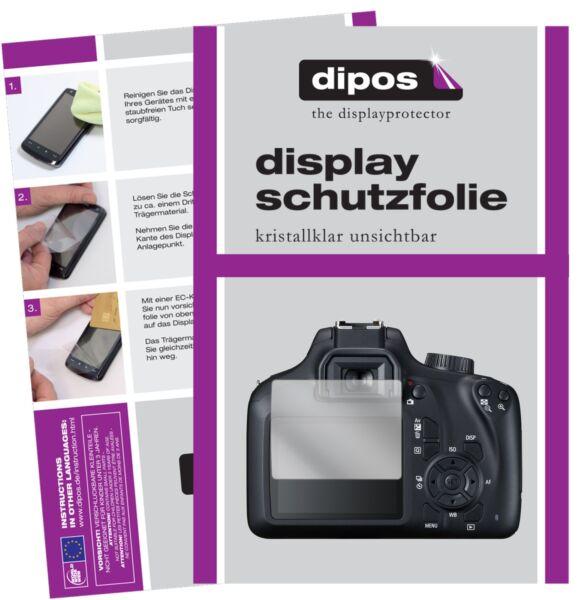 6x Canon Eos 4000d Film De Protection D'écran Protecteur Clair Dipos