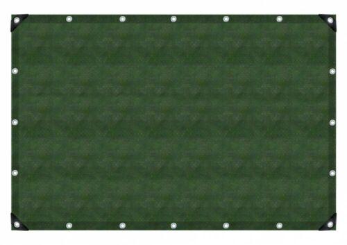 Gewebeplane Pe-Gewebeplane 90 Olivgrün Grün 3 x 4 m 91233 Plane Gewebe