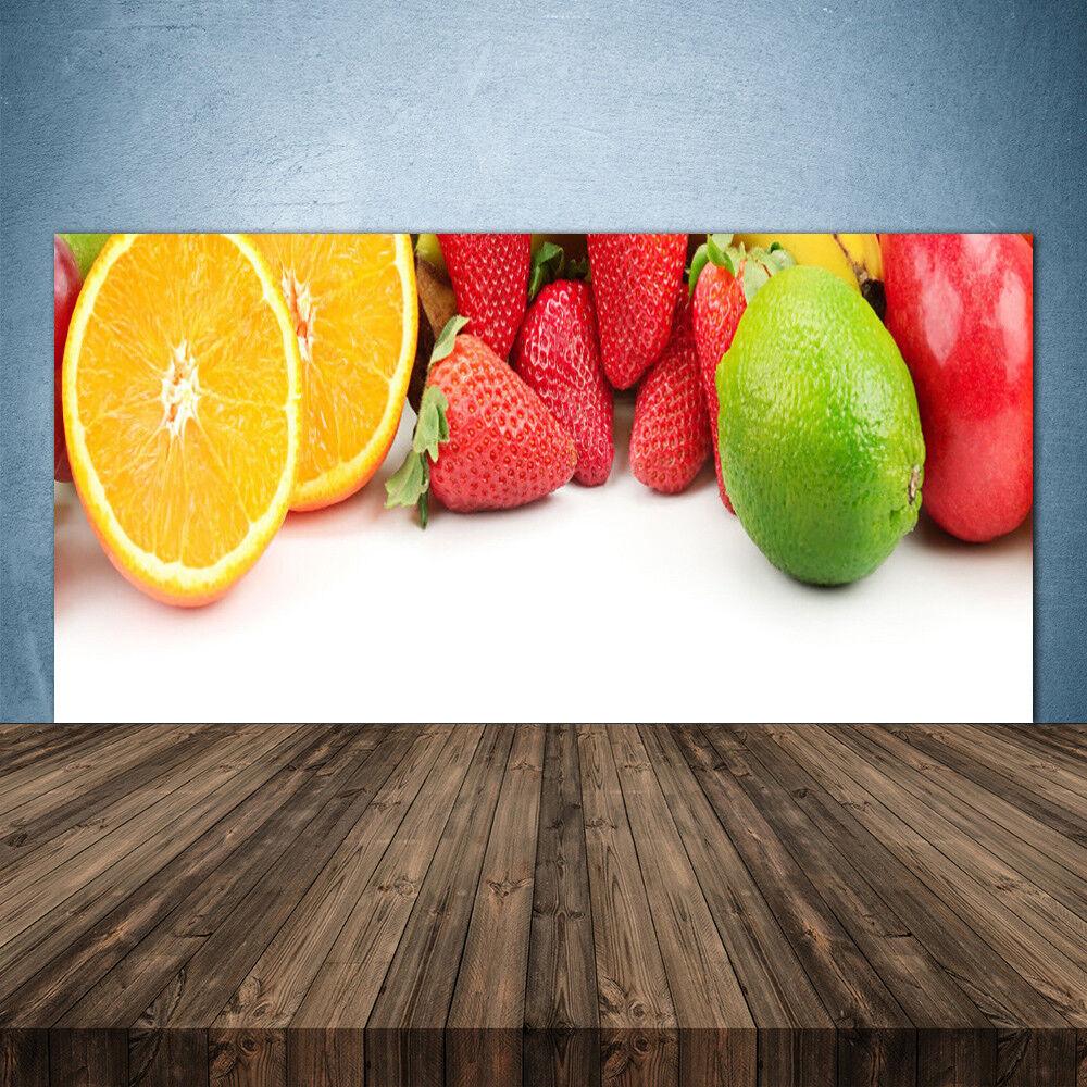Crédence de cuisine en verre Panneau 140x70 Cuisine Fruits