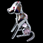 Crystocraft-Dog-Crystal-Pet-Ornament-With-Swarovski-Elements-Boxed-Pink-Silver thumbnail 8