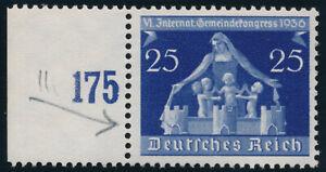 DR-1936-MiNr-620-II-tadellos-postfrisch-gepr-Schlegel-Mi-130