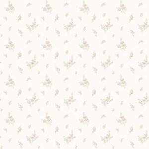 Aimable G67916-miniatures 2 Petites Roses Beige Blanc Galerie Papier Peint-afficher Le Titre D'origine