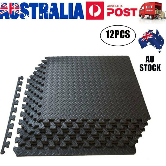 12PCSx Interlocking Heavy Duty EVA Foam Gym Flooring Floor Mat Mats Tiles VIC AU