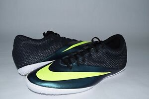 new style 0118c e1a31 Details about New Mens Nike MercurialX Pro IC Indoor Soccer Shoes 725244  401 sz 12.5 black