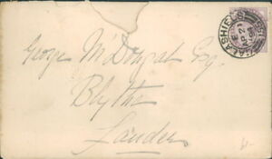 Victorian  Stamps cover George M Dougal  London Galashiels Postmark 1894