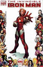 Invincible Iron Man #29 Women of Marvel Pepper Potts Rescue Frame Variant