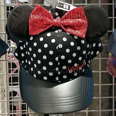 Disney minnie mouse ratón SEÑORA gorro gorro chulo invierno negro Beanie Primark