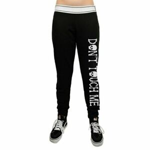 Black Gothic logo sweatpants