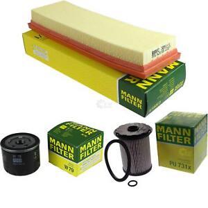 MANN-FILTER-PAKET-fuer-Renault-Trafic-II-Bus-JL-1-9-dCi-80-100-Kasten-FL-EL-Opel