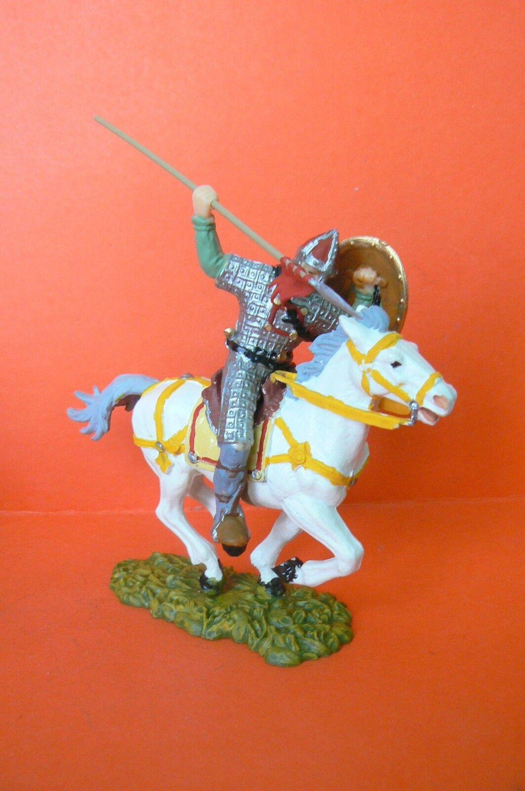 ELASTOLIN   MEDIUM AGE VERY BEAUTIFUL KNIGHT HORSE