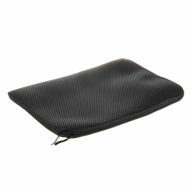 """13"""" 13.3"""" Black Mesh Neoprene Notebook Laptop Sleeve Bag Case D4E9"""
