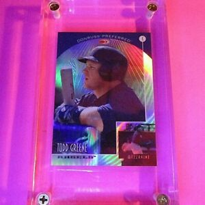 1998-Donruss-PRIZED-Collections-PREFERRED-Todd-Greene-663-MINT-55-Refractor