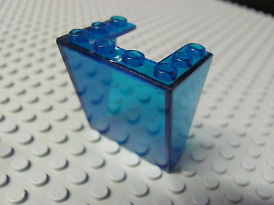 100% Vero Lego 4872 @@ Windscreen 3 X 4 X 4 Inverted (x1) @@ Trans Dark Blue @@ Bleu Fonce