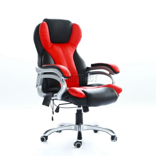 Gaming /& Computer Recliner Swivel MC8074 WestWood Heated Massage Office Chair