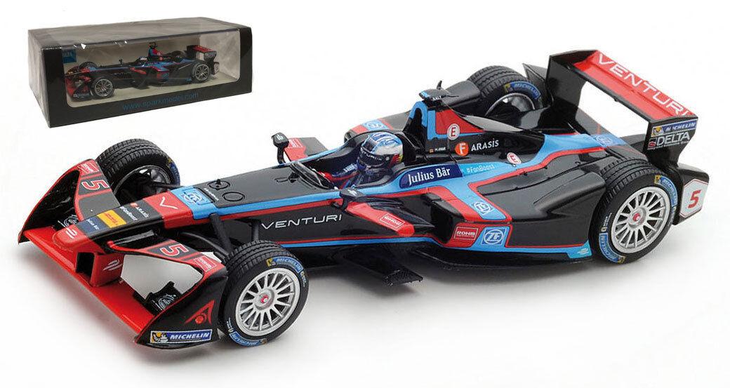 SPARK S5905 Venturi Formula E équipe Saison  5 3 2016-17 - Maro Engel échelle 1 43