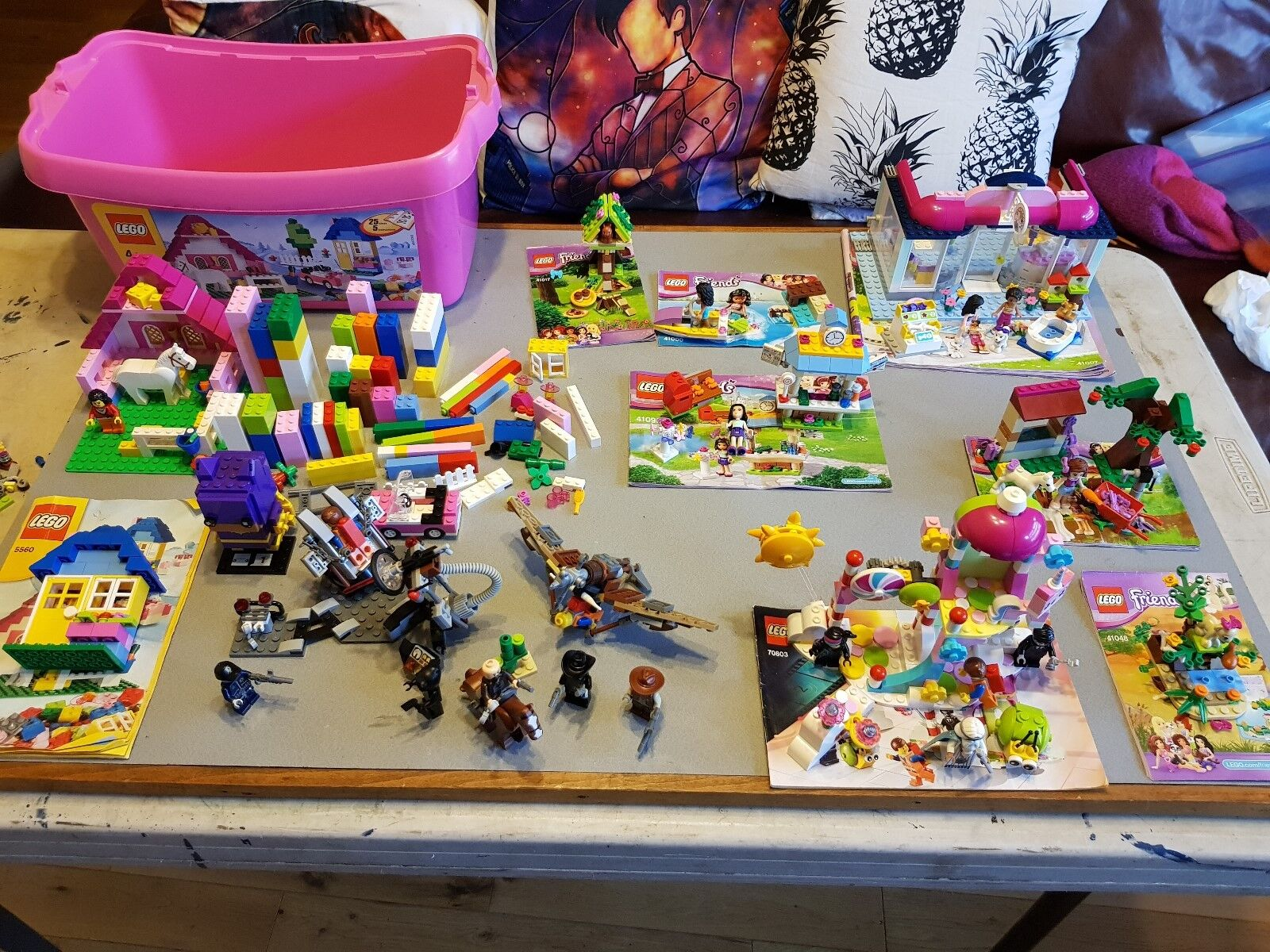 11 x Lego Sets Friends Lego Movie