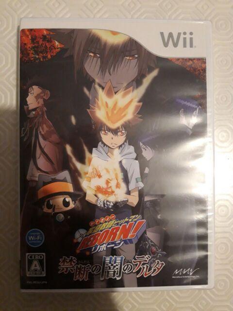 Used Wii Katekyoo Hitman Reborn! Kindan Nintendo JAPAN  JAPANESE JAPONAIS IMPORT