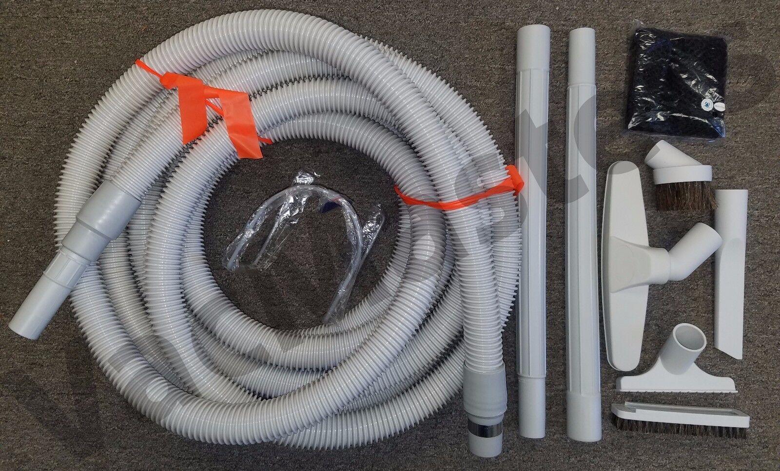 "Fit all Beam Nutone MD Hayden 1.5/"" Vacuflo Central Vacuum Garage Car Care Kit"