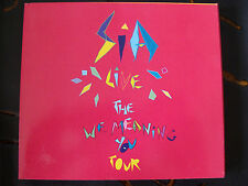 Slip Double: SIA : We Meaning You Live London 2010  2CDs