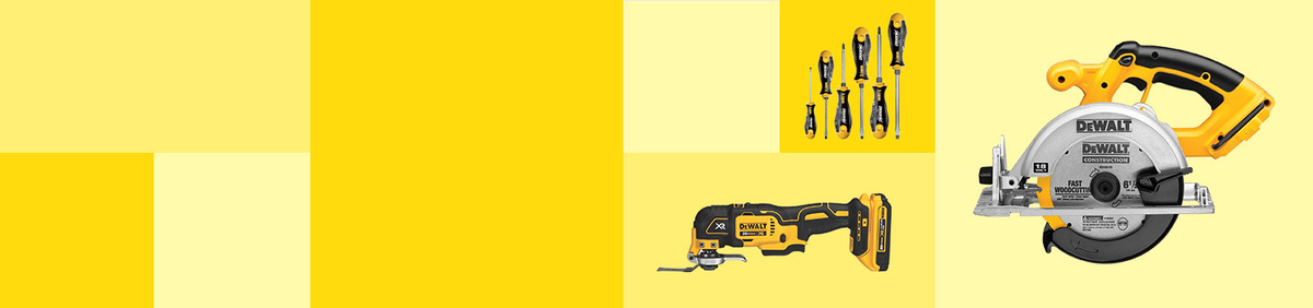 Shop Event DIY with DEWALT Save on tools- plus Free Shipping