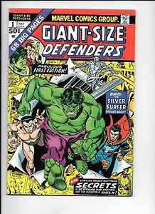 Giant-Size-Defenders-1-July-1974-Silver-Surfer