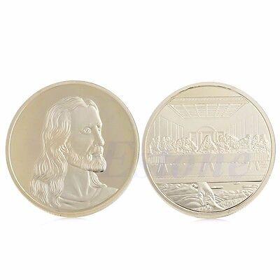 Masonic All-seeing Pyramid Pyramid Gold Color Coin Coins Art DRP High quali P7C2