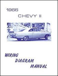1966 Chevrolet Chevy II Wiring Diagram Manual | eBay