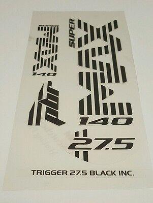 Super Max Sticker Decal Set for Cannondale Lefty PBR Trigger 29 Carbon 1//Team