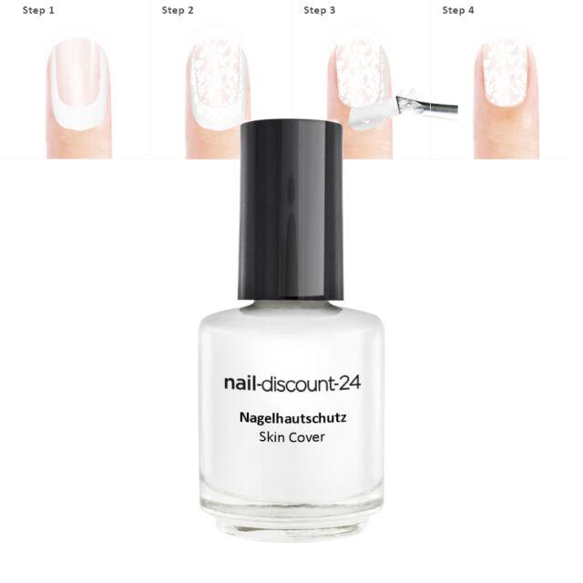 (26,00€/100ml) Nagelhautschutz 15ml Nail Art Design Maniküre Modellage SkinCover