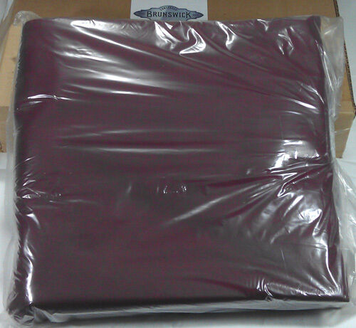 POOL TABLE CLOTH BED CUSHION SET BRUNSWICK BILLIARDS CONTENDER GREEN RED 8/' 9/'
