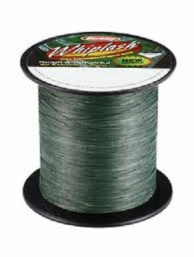 Berkley Whiplash BulkSpool Dyneema LoVis Green BRAID 20lb 0.06mm 2000 m 2200 Yds