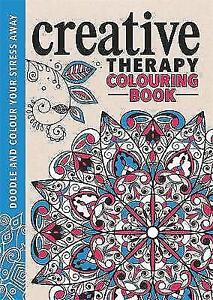 The Creative Therapy Colouring Book By Richard Merritt Jo Taylor