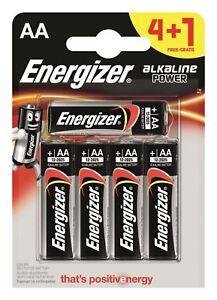 5-x-pilas-AA-alcalinas-Power-Plus-Energizer-LR6-MN1500-Mignon-Stilo