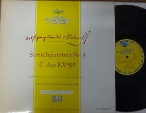 """AMADEUS QUARTET - ARONOWITZ / MOZART / DGG LPM 18240 - France - État : Genre: Classical Sleeve Grading: Excellent (EX) Record Size: 12"""" Speed: 33 RPM Duration: LP Style: Quintet Record Grading: Near Mint (NM or M-) - France"""