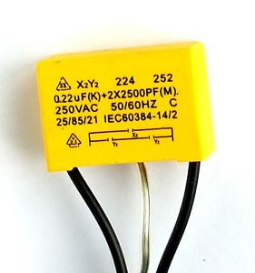 Safety-capacitor-X2-Y2-250vAC-0-22uF-group1-2x-2500pF-group-2-ref-724