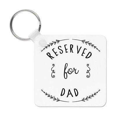 Best Dad Papà Daddy Giorno di Padri Portachiavi Chiave Acciaio Inox Regalo