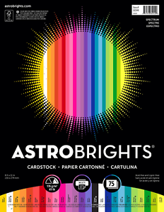Astrobrights Colored Cardstock Paper Spectrum