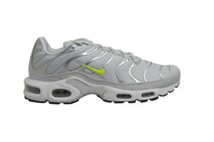 finest selection 8f0cc 6d2ba Details about Mens Nike Tuned 1 Air Max Plus TN - CD1533002 - Pure Platinum  Volt Dark Grey