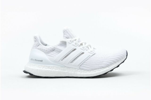 buy online 71f75 bf446 New Adidas Ultra Boost 4.0 Triple White BB6168 For Mens LIMITED