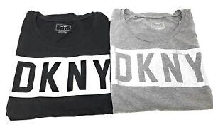 DKNY-Womens-DKNY-Squared-Logo-Crew-Neck-Short-Sleeve-Cotton