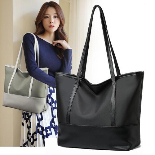 Fashion Large Capacity Nylon Ladies Handbags Shoulder Tote Shopping Women Bags