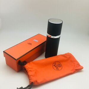 HERMES-ATOMIZER-PERFUME-REFILLABLE-SPRAY-CASE-LEATHER-METAL-EMPTY