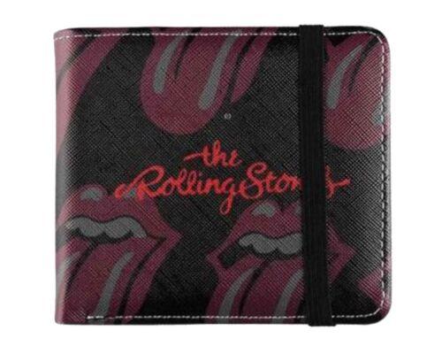 The Rolling Stones portefeuille classique de la langue Band Logo Repeat New Official deux volets