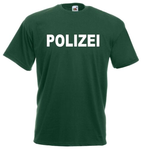 Police Funshirt pour mardi gras