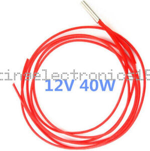 5PCS Reprap 24v 30W Ceramic Cartridge Wire Heater 3D Printer Prusa Mendel new
