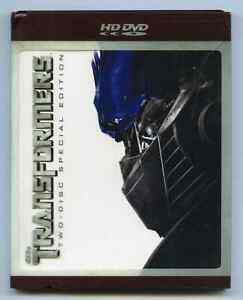 Rare HD DVD - TRANSFORMERS - HDDVD 2-Disc Special Edition & Outer Plastic Cover