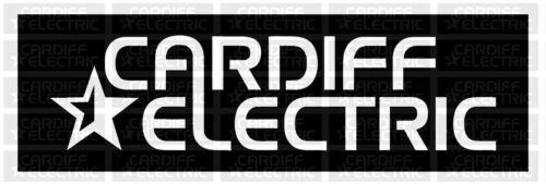 Cardiff Electric Vinyl Graphics