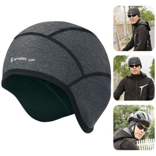 Cycling Beanie Running Helmet Liner Cap Thermal Fleece Winter Outdoor Quick Dry