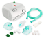 Small-Portable-Nebulizer-Machine-with-supplies-Full-Mask-Filter-amp-Saline-Kit thumbnail 1